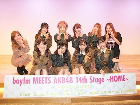 毎年恒例「bayfm MEETS AKB48」出演メンバー決定!