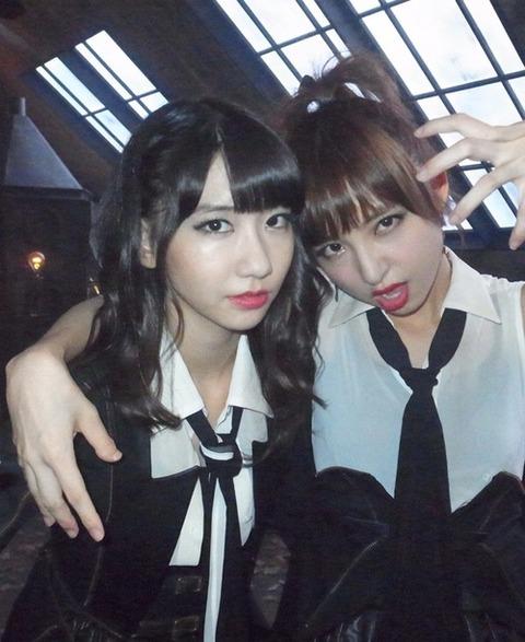 篠田麻里子と柏木由紀ってどっちが格上?