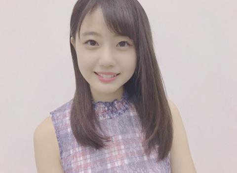 【STU48】瀧野由美子Twitterアカウント開設