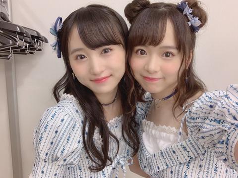 【AKB48】坂口渚沙と倉野尾成美という宿命のライバル!【チーム8】