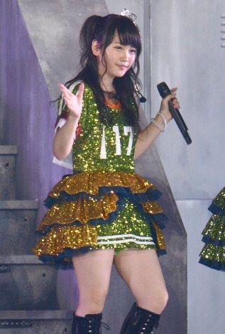 【AKB48】川栄李奈の背番号17は入山杏奈への復帰祈願だった