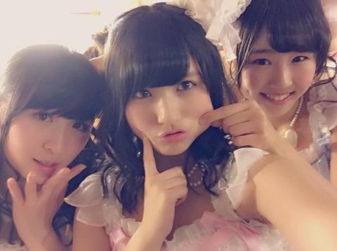 【AKB48】この三人の中にルックスレベルを下げてる子がいまーすwww