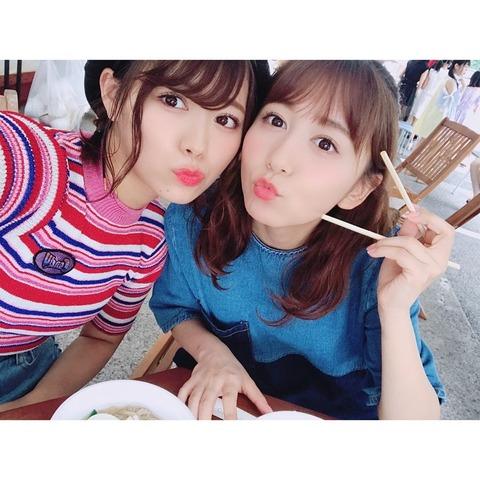 【SKE48】大場美奈と山内鈴蘭の関係ってなんかいいよな