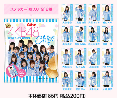 AKB48チップスの次に出すべき商品を考えるスレ