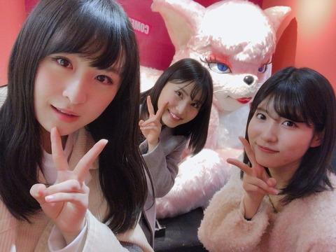 【AKB48】谷口めぐ、福岡聖菜、川本紗矢の3人の中で一人だけ付き合えるなら誰がいい?