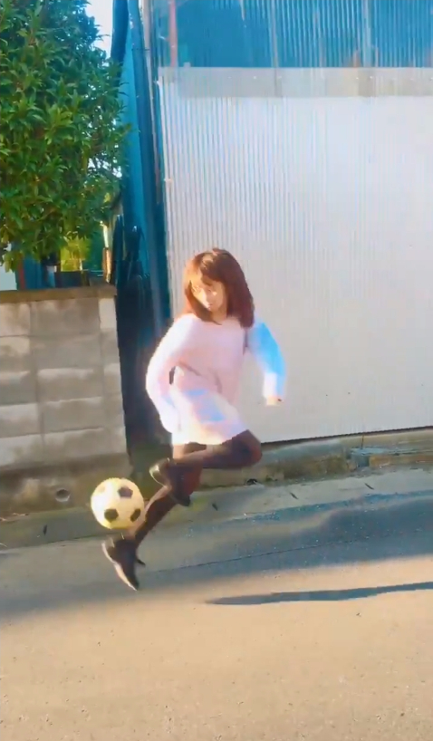 【NMB48】磯佳奈江のリフティング動画が普通に凄い