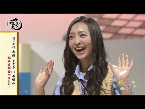 【HKT48】森保まどか「顔もコンプレックス」指原莉乃「いや、もうブン殴るよ?マジで」