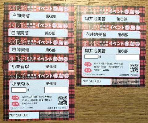 【AKB48】初めて個別握手会行くんだけど何枚買えばいいですか?