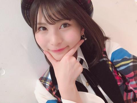 【AKB48】福岡聖菜「なんと昇格4周年!中学1年生だった私もそろそろ高校3年生」