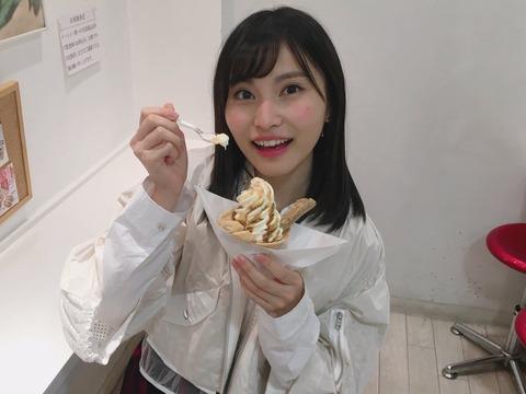 【AKB48】信玄餅アイスを食べるせいちゃんが可愛すぎる!!!【福岡聖菜】