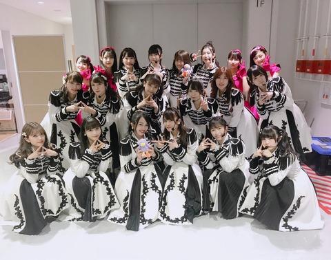 【AKB48】かつてグループのフラッグシップだったチームAの最新のお姿がこちら