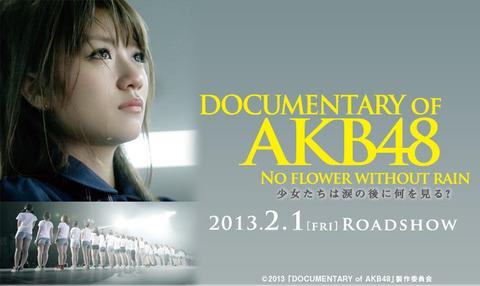 【AKB48】ドキュメンタリー映画観たいよ