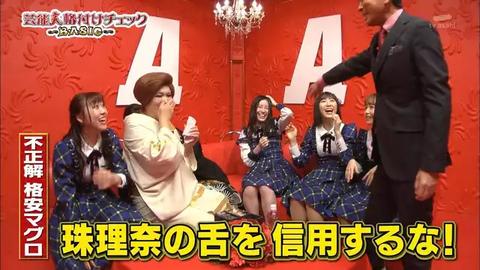 【SKE48】格付けチェックに、世界チャンピオン松井珠理奈さんが登場!