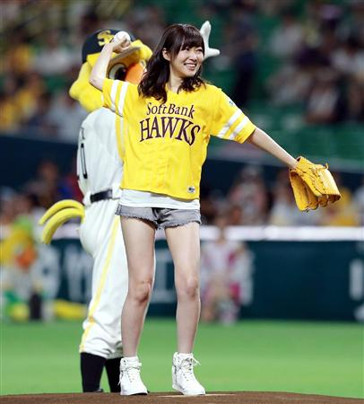 【HKT48】指原莉乃の始球式画像やで~