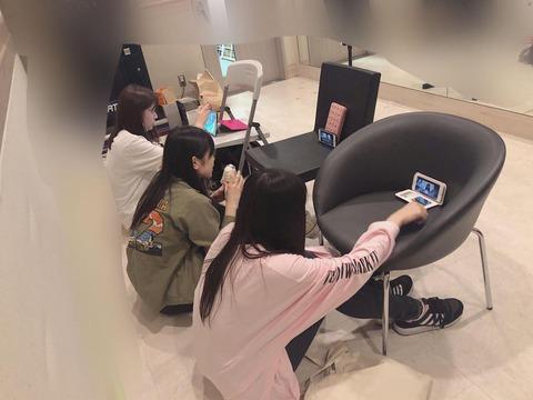 【AKB48G】メンバーがSHOWROOM配信している裏側がこちら
