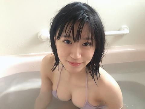 【朗報】NMB48上西怜ちゃんが入浴姿を公開!!!
