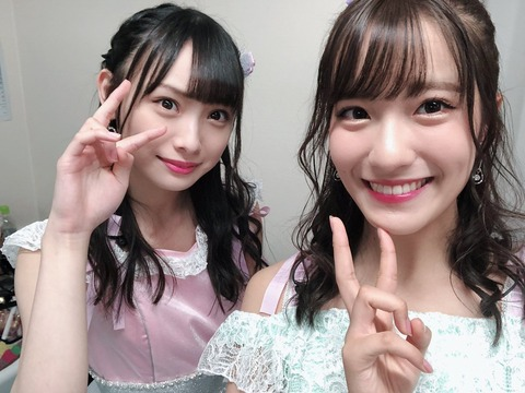 【NMB48】梅山恋和(15歳)と高柳明音(26歳)の顔が似てる【SKE48】
