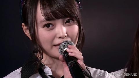 【悲報】AKB48樋渡結依が劇場公演にて卒業発表