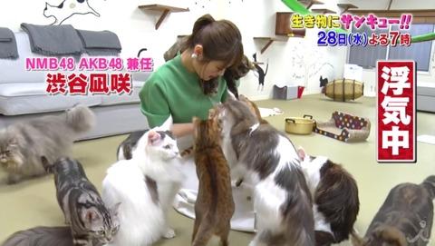 【NGT48】渋谷凪咲がまたまた「生き物にサンキュー!」に出演!メイさんから浮気?