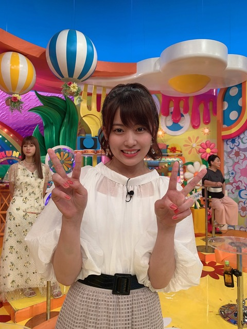 【AKB48】日テレ「ヒルナンデス」に岡部麟ちゃんキタ━━━(゚∀゚)━━━━!!