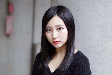 【HKT48】珍しく斜め分けにした田中美久さん、めっちゃ大人っぽくなる