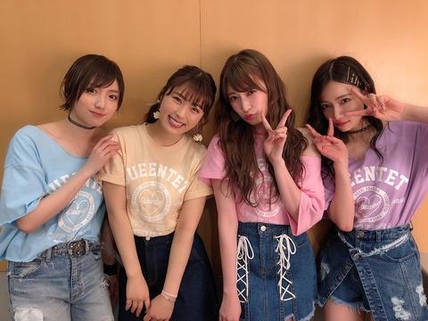 【朗報】NMB48女子力ユニット「Queentet」が東京で単独ライブ開催決定!!!【6月2日(日)】