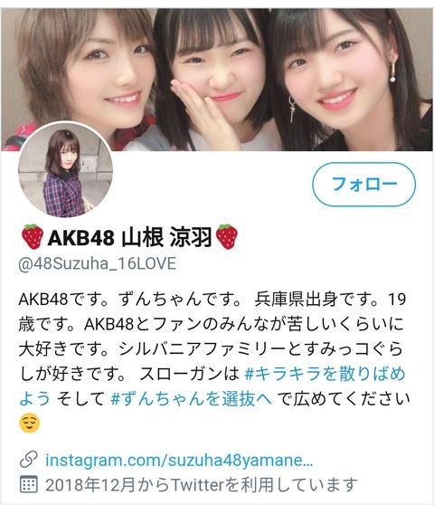 【AKB48】ずんちゃんの 「ゆうなぁ」を利用してのし上がってやろう感www【山根涼羽】