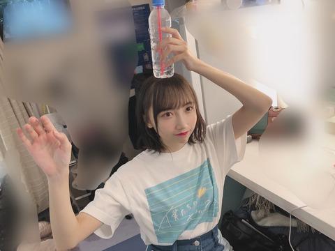 【STU48】薮下楓ちゃんの超ミニスカ生足えっろ!!!