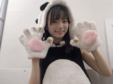 【朗報】SKE48で新たな幸薄美少女が見つかる!!!【西満里奈】