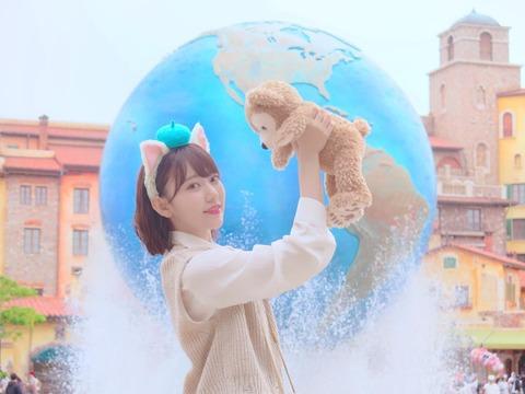 【HKT48】宮脇咲良「昨日ディズニーシーに行って来ました☺」