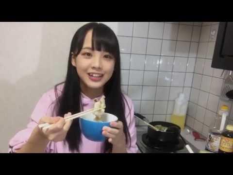 【STU48】福田朱里が料理してるの見て嫁にしたいなと思ってしまった