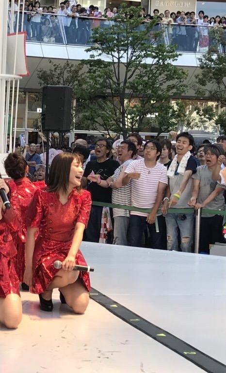 【画像】 SKE48の現場が ジジイだらけって言ってたの誰だよ、違うじゃねーーかwwwwww