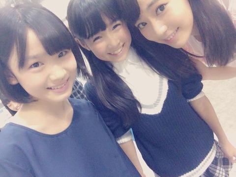 【HKT48】ロリコンども!これが博多のロリ3トップだ!!!