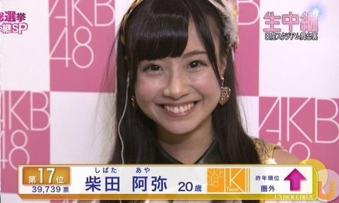 【AKB48】あ、あれ?ジャンプアップ賞は???【総選挙】