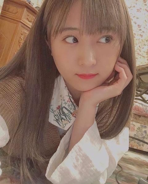 【大悲報】AKB48坂口渚沙が茶髪になっちゃった…