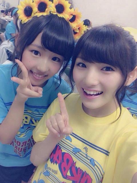 【AKB48】岡田奈々「心許せる唯一の味方のなっきーがいなくなってしまう」