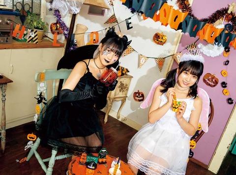 【HKT48】なこみくのハロウィンコスプレが可愛い件【矢吹奈子・田中美久】