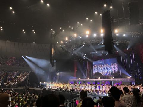 【悲報】AKB48グループ感謝祭ランクインコンサートが今年も安定のクソコンwww【17位~100位】