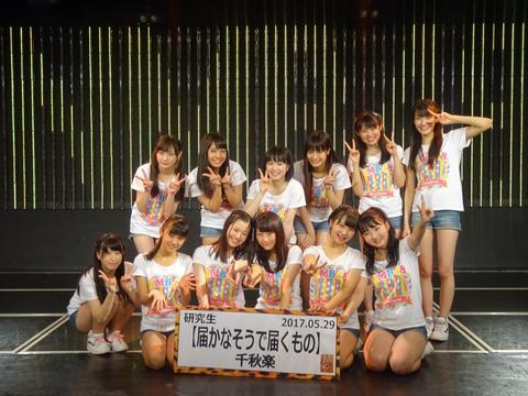 【朗報】NMB48の5期生がお披露目から1年経過しても誰一人卒業していない件