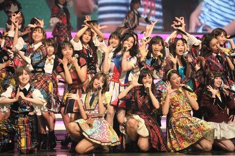 【悲報】視聴者が選ぶ紅白ベストアクト、AKB48は0票の45位