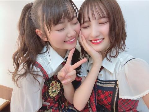 【AKB48】次のシングルは稲垣香織と長友彩海のダブルセンターで行こう!
