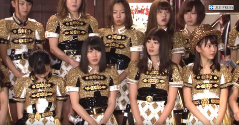 【悲報】島崎遥香さん、とうとう取材カメラに対しても塩対応