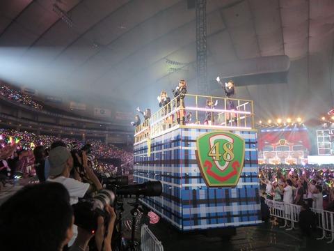 【提案】AKB48は東京ドームの使い方を見直せ