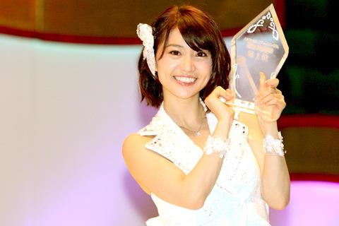 優子が卒業しそうで総選挙が怖い
