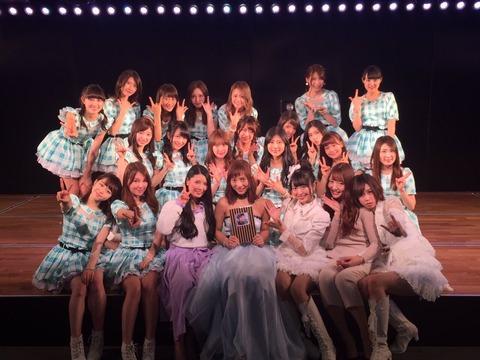 【AKB48】高城亜樹卒業公演にて、北原里英「AKBが大きくなった一人の立役者だと思っている」