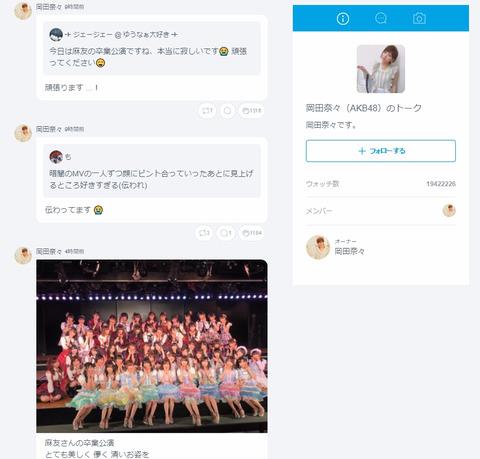 【AKB48G】どうやったら755でメンバーから返信もらえるの?