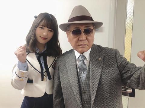 【大悲報】なぎちゃんとヤクザの2ショットが流出・・・【NMB48・渋谷凪咲】