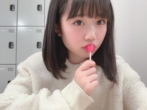 【画像】HKT48工藤陽香さん13歳、あざといwwwwww