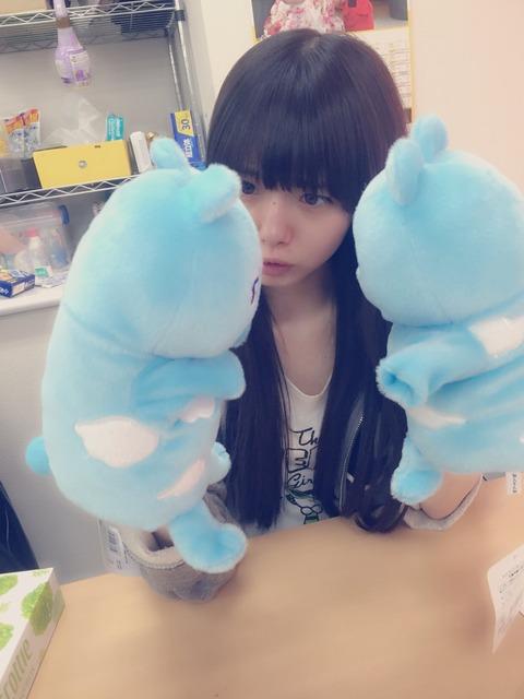 【NMB48】終身名誉合法ロリこと市川美織さん(22)、10分間一人きりの人形劇