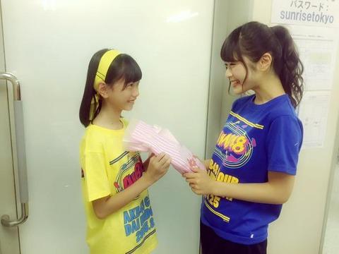 【AKB48G】ドラフト二期から先輩へのプレゼント攻撃が凄い【貢ぎ物】